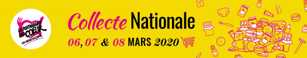 Visuel collecte nationale Restos du Cœur 2020